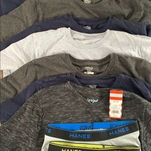 Other - Boys 14-16 8 T-shirt's and 3 L soft boxer briefs